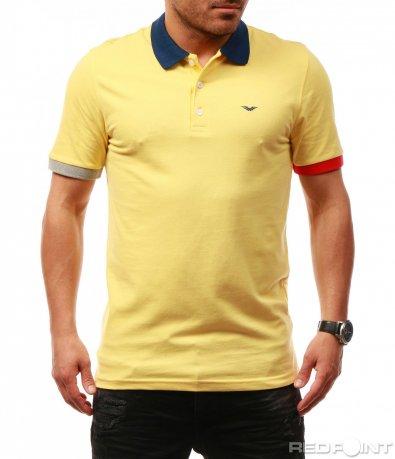 Класическа тениска с яка 7700