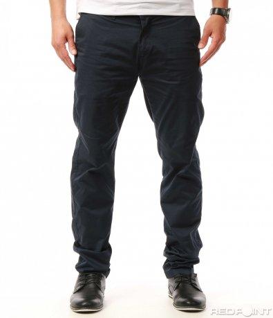 Спортно елегантен изчистен панталон 7706