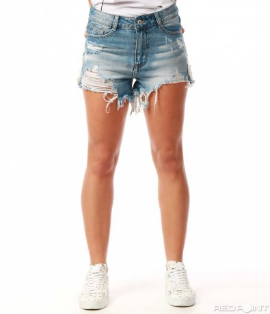 Къси дънкови панталони  7717