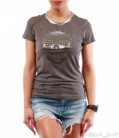Тениска с интересен принт 7741