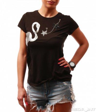 Тениска с фламинго 7746