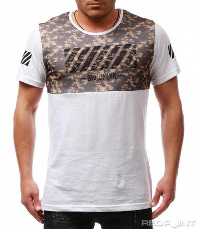 Клубна тениска с принт 7761