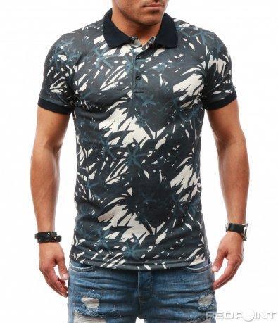Ефектна поло тениска 7820