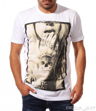 Тениска Religion с щампа 7836