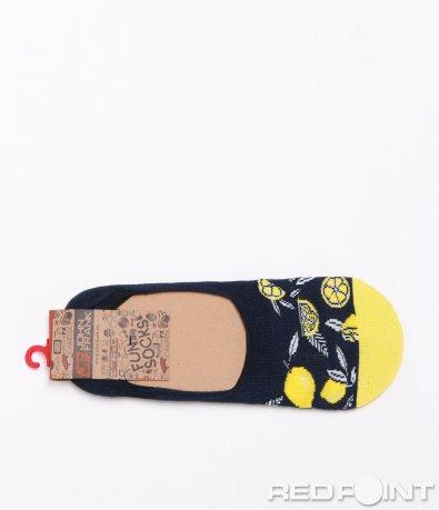 Интересни чорапи с цветен принт 6360
