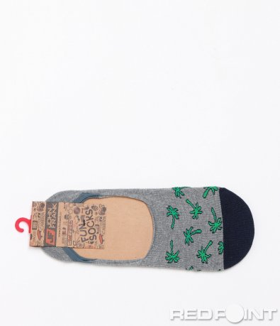 Леки чорапи John Frank с апликция 7806