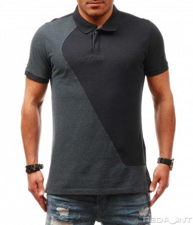 Polo shirt в син цвят 7848
