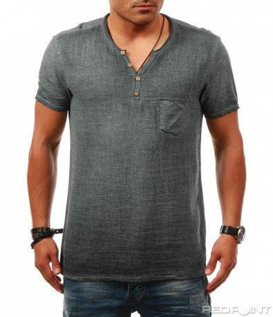 Ежедневна тениска с джоб 7861