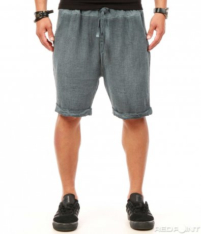 Къси ежедневни панталони с лен 7856