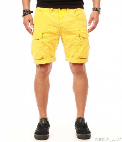 Свежи жълти къси панталонки 7874