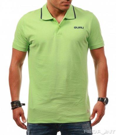 Изчистен Polo t-shirt с яка 7880
