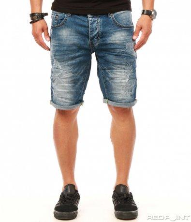 Класически сини къси дънки 7855