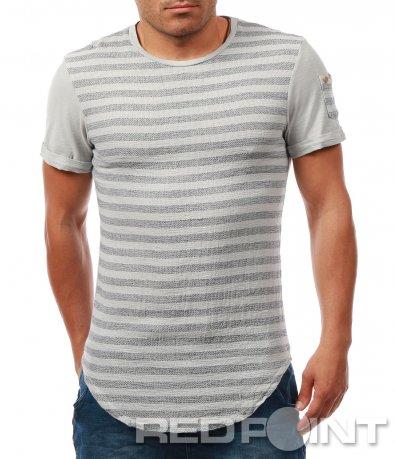 Лятна тениска в свежо райе 7890