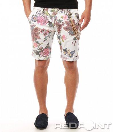 Пъстри къси панталонки 7910