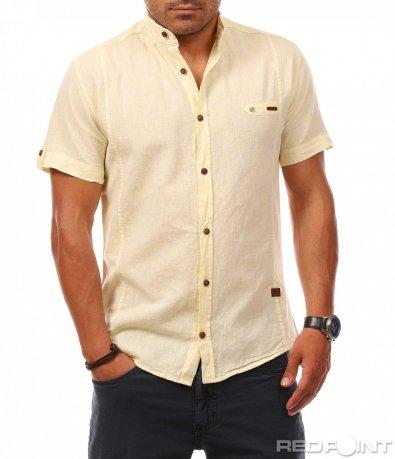 Свежа риза с къс ръкав 7926