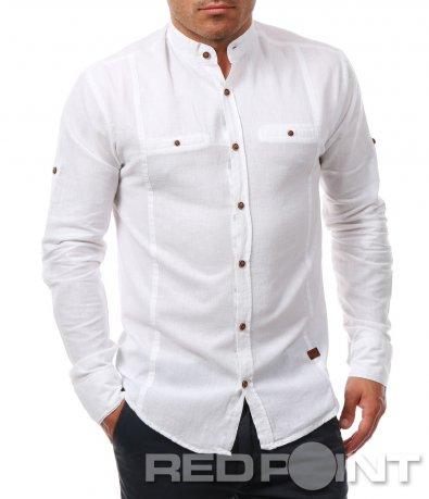 Ефектна памучна риза 7927