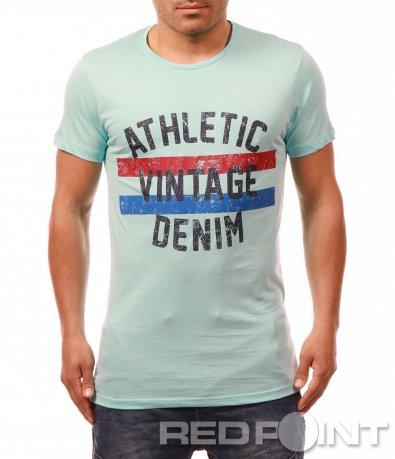 Спортна тениска с щампа 7931