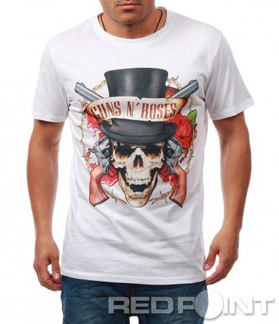 Ексцентрична тениска с щампа 7914