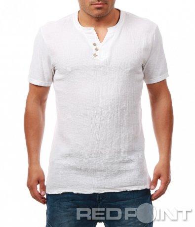 Изчистена тениска с лятна визия 7918