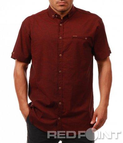 Изчистена риза с къс ръкав 7935
