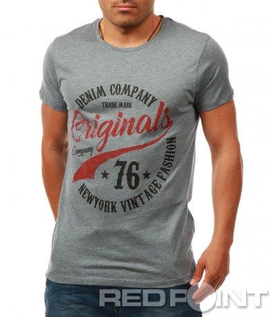 Спортна тениска с щампа 7944