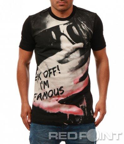 T-shirt с провокативен надпис 7968