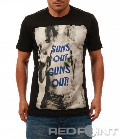 Тениска с провокативна щампа 7839