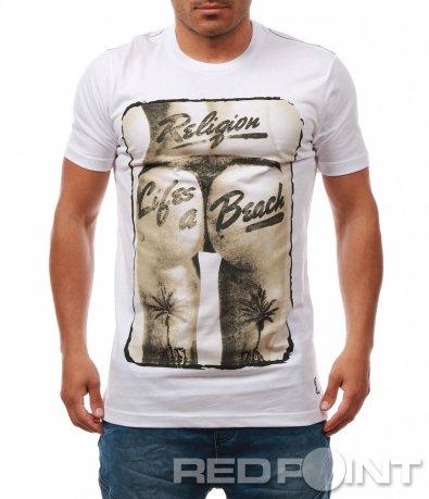Тениска с голяма щампа 7969