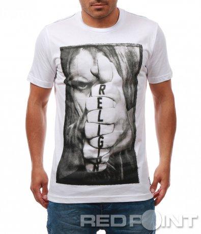 Класна тениска с надпис Religion 7970