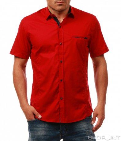 Лятна риза с къс ръкав 7971