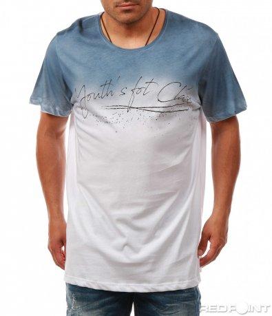 Преливаща тениска с надпис 7987