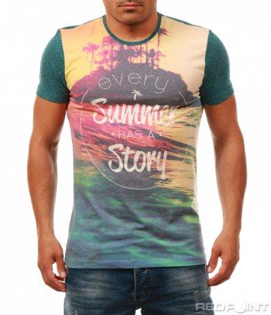 Атрактивна лятна тениска 7983