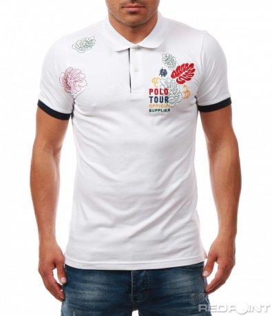 Семпла тениска с декорация 8000