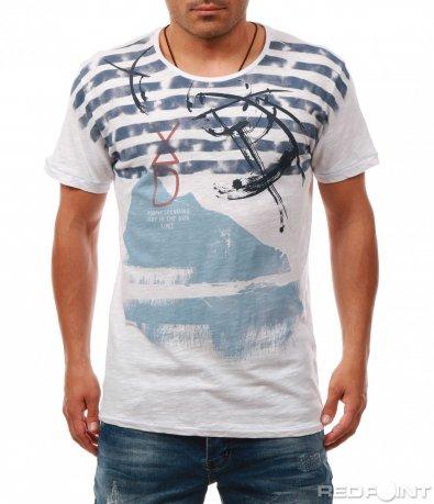 Тениска с морски мотиви 8032