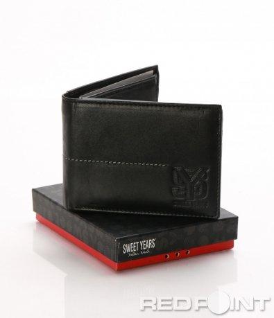 Кожен портфейл с гравюра 8037