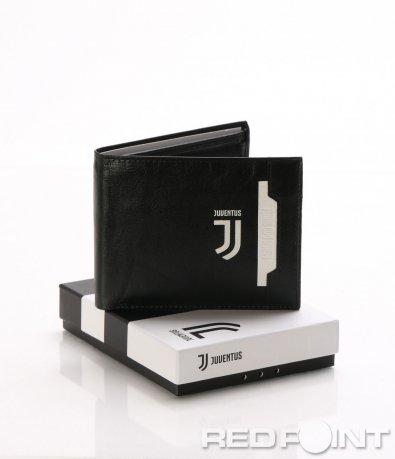 Стилен кожен портфейл с лого Juventus 8043