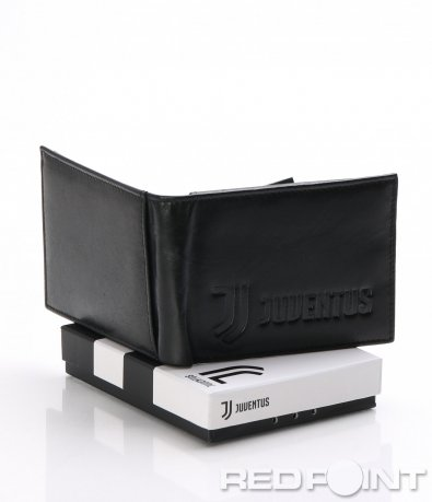 Черно кожено портмоне с лого 8048