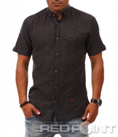 Свежа риза с къс ръкав 8083