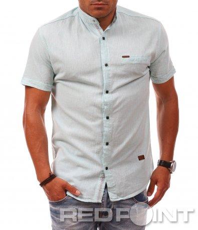 Лятна риза с къс ръкав 8084