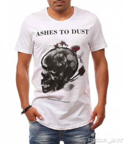 Тениска с longfit кройка 8103