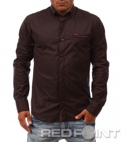 Стилна памучна риза 8080