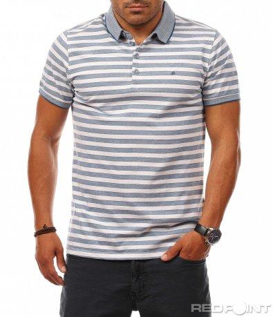 Свежа морска поло тениска 8116