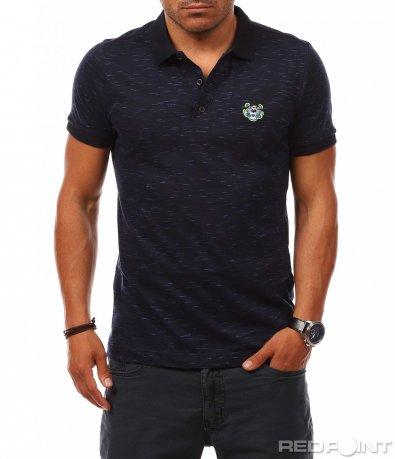 Класическа поло тениска с лого 8126
