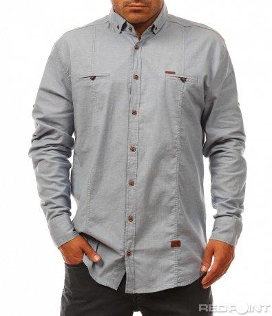 Ефектна ежеднeвна риза 8128