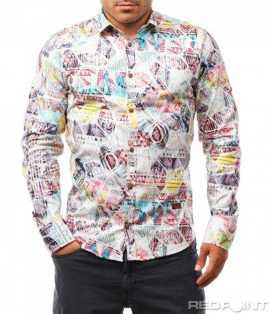 Пъстра риза с орнамент 8129