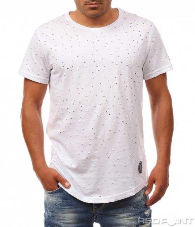 Атрактивна тениска с ефект 8135
