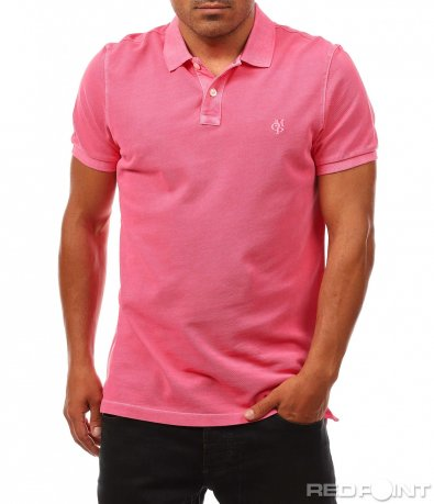 Класическа поло тениска с лого 8146