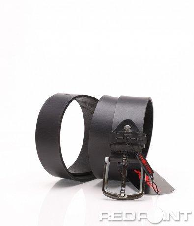 Стилен колан в черен цвят 8164