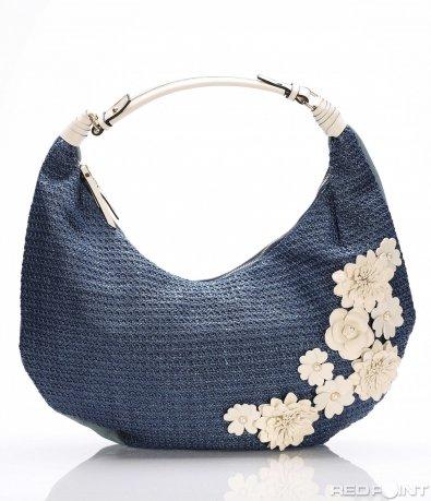 Голяма чанта с цветя 8183