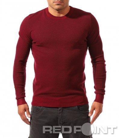 Семпла блуза с дълъг ръкав 8238